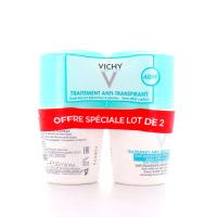 Vichy Déodorant Anti-Transpirant 48h Anti-traces Sans effet Carton Bille 50ml