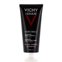 VICHY Homme Hydra Mag C Gel douche Corps et cheveux