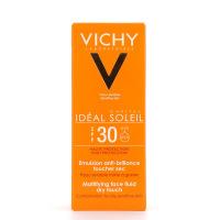 Vichy Ideal soleil Emulsion Toucher Sec SPF 30 en 50ml