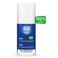 Weleda déodorant homme roll-on 24H en 50 ml