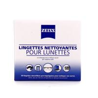 ZEISS Lingettes nettoyantes pour lunettes 30 lingettes individuelles
