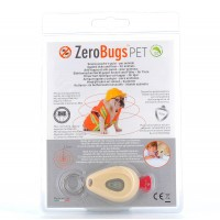 ZeroBugs Pet Répulsif Anti-Puces et Anti-Tiques Electronique pour Animaux