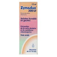 Zymaduo 300 UI solution buvable en gouttes de 12 ml avec compte-gouttes
