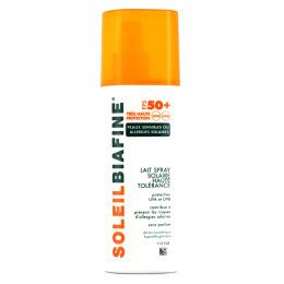 Soleilbiafine Lait solaire Haute tolérance SPF50+