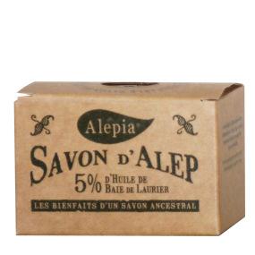 Savon d'Alep 5% d'huile de baie de Laurier
