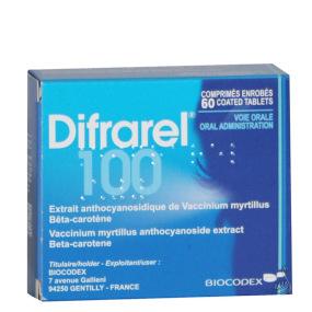 Difrarel 100 mg 60 comprimés