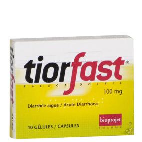 Tiorfast 100mg 10 gélules