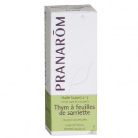 Pranarom huile essentielle Thym à feuilles de sariette 10ml