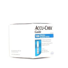 Accu-Chek Guide 100 Bandelettes Réactives