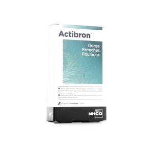 Actibron gorge, bronches, poumons