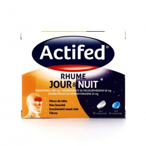 Actifed Rhume Jour et Nuit