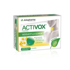 Activox Pastilles Menthe Eucalyptus - 24 pastilles