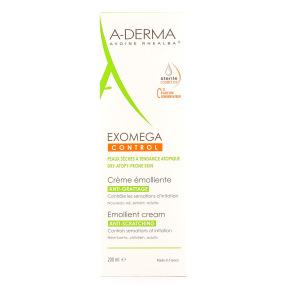ADERMA Crème émolliente Exomega Control Tube 200 ml