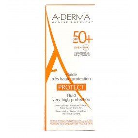 ADERMA Protect SPF50+ Fluide très haute protection 40ml