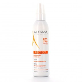 ADERMA Protect SPF50+ Spray très haute protection 200ml