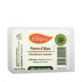 Alepia Pierre d'Alun Déodorant naturel 100g