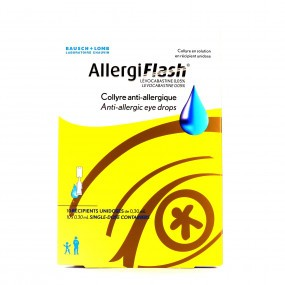 AllergiFlash Collyre Anti-allergique 10 dosettes