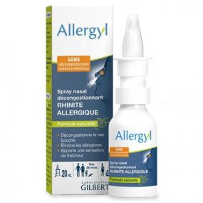 Gilbert Allergyl - Spray nasal décongestionnant - 20ml