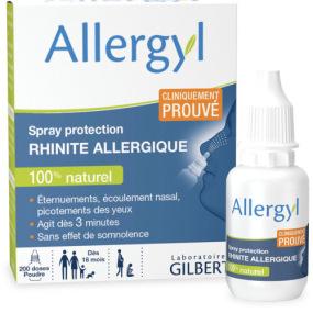 Allergyl Spray Protection Rhinite Allergique Flacon
