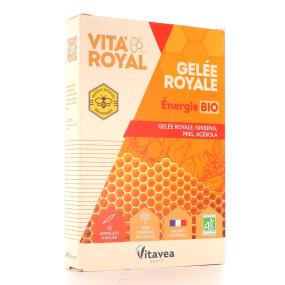 Ampoules Vita'Royal Gelée Royale