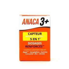 Anaca3+ Capteur de Graisses et Sucres 5 en 1