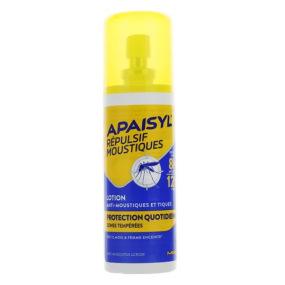 Apaisyl Répulsif Moustiques Lotion Protection quotidienne en 90 ml