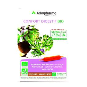 Arkofluides Confort Digestif ampoules