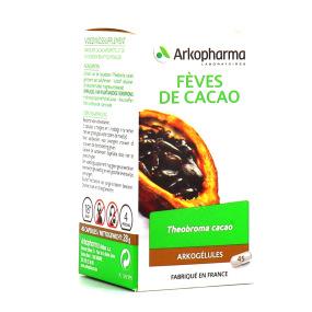 Arkogélules fèves de cacao 45 gélules