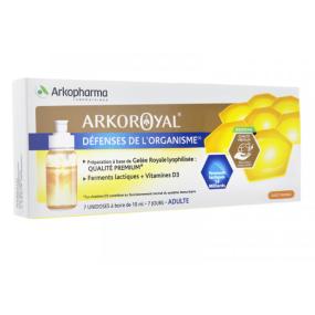 Arkopharma Arkoroyal défense de l'organisme adultes - 7x10ml