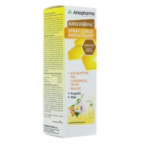 Arkopharma ArkoRoyal Spray Adoucissant pour la Gorge - 30 ml