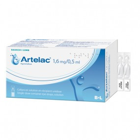 Artelac collyre 1,6mg / 0,5ml 60 unidoses