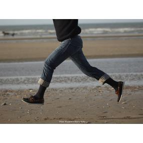 Bas Cuisse Pied Ouvert Venoflex City Confort Coton Classe 3 Thuasne