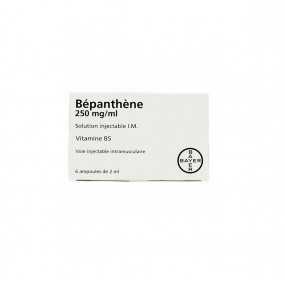 Bepanthène 250 mg/ml 6 ampoules