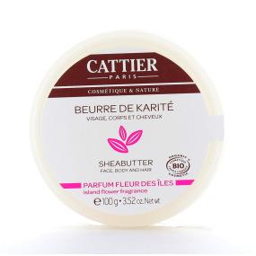 Beurre de Karité Parfum Fleur des Îles