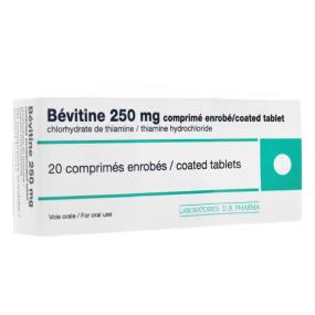 Bevitine 250 mg 20 comprimés