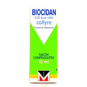 Biocidan Collyre 10ml