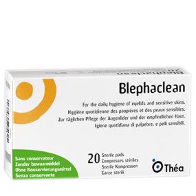 Blephaclean Hygiène des Paupières 20 compresses stériles