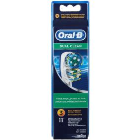 Brossettes Dual Clean recharge brosse à dents électrique