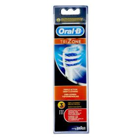 Brossettes trizone recharge brosse à dents électrique