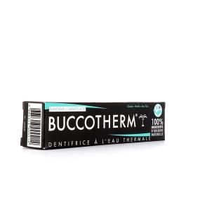 Buccotherm Dentifrice à l'Eau Thermale Blancheur Charbon