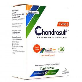 CHONDROSULF 1200 mg gel oral