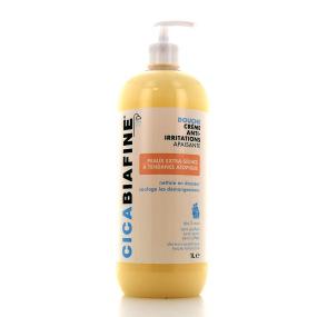 Cicabiafine crème douche hydratante anti irritation