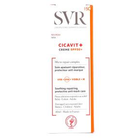 Cicavit+ SPF50+ Crème réparatrice