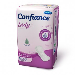 Confiance lady taille 1,5 - 14 protections anatomiques