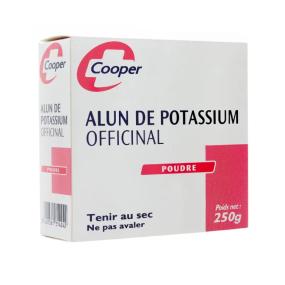 Cooper Alun de Potassium Officinal