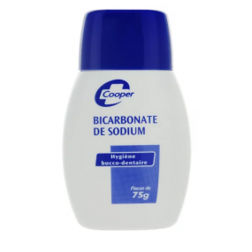 Cooper Bicarbonate de Sodium Hygiène Bucco-Dentaire