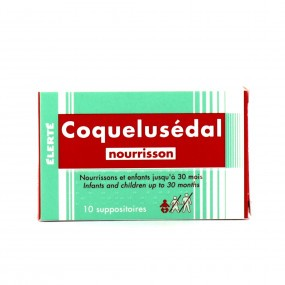 Coquelusédal suppositoires nourrisson 10