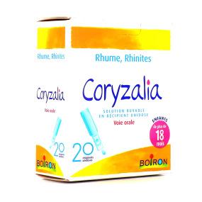 Coryzalia - 20 unidoses rhume enfants dés 18 mois