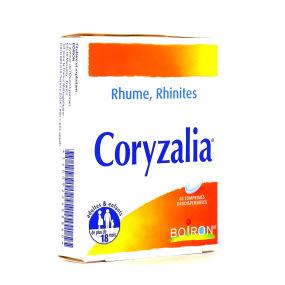 Coryzalia Rhume Rhinite 40 comprimés orodispersibles Boiron