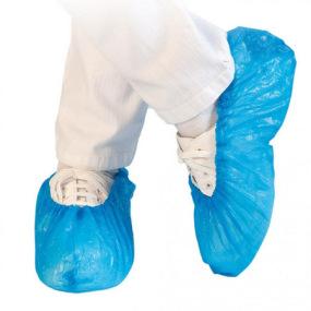 Couvre chaussure CPE bleu sachet de 100